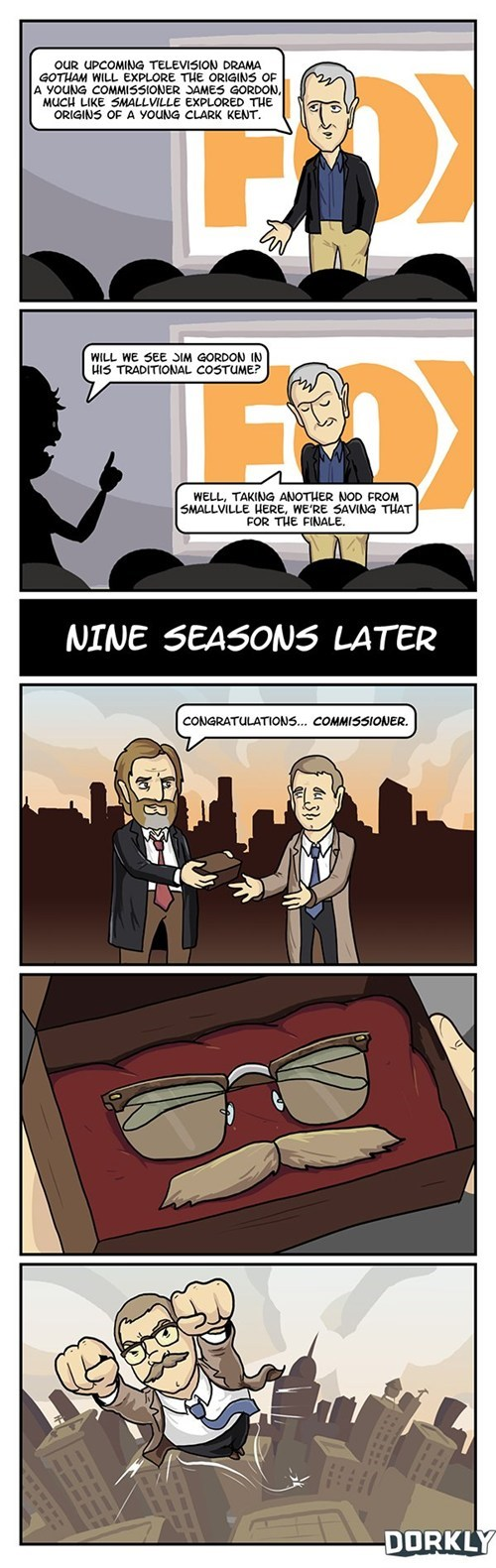 commissioner gordon,dorkly,gotham