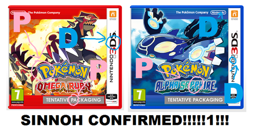 sorry sinnoh confirmed it will never stop at least not another hoenn confirmed lel - 8177190912