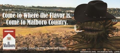 Warning! Smoking May Cause Bad Breath