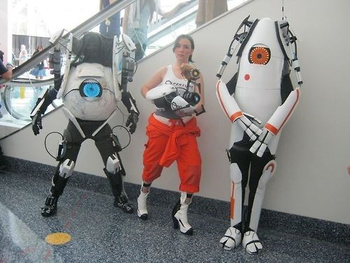 awesome,cosplay,portal 2