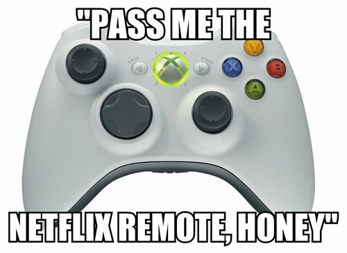 controllers netflix xbox 360 remotes - 8177711360