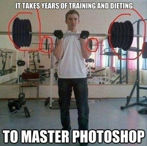 weightlifting fitness photoshop