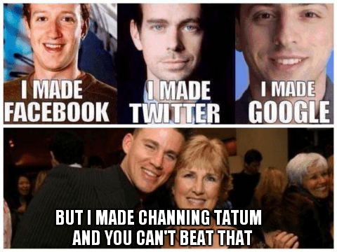 mothers day,parenting,channing tatum,mom