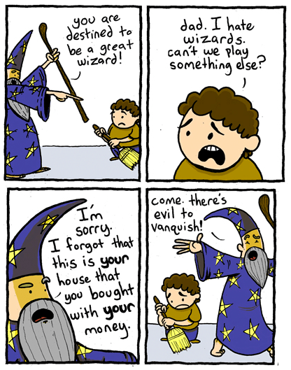 kids,parenting,wizards,web comics,magic