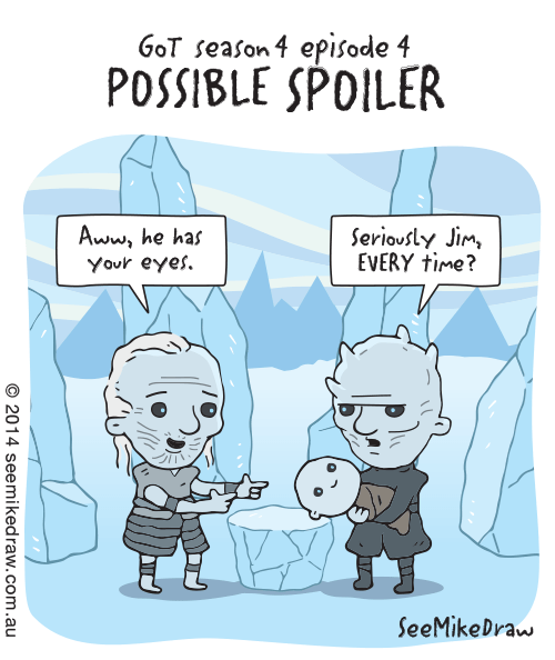 Game of Thrones season 4 white walkers web comics - 8178738944