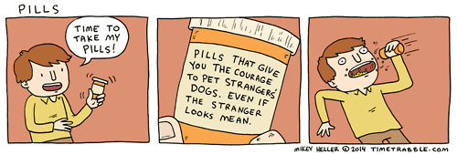 dogs,pills,web comics