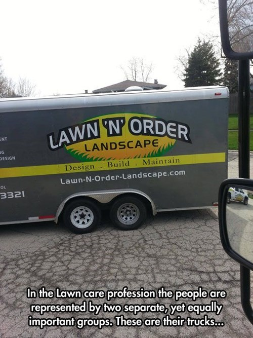 monday thru friday law and order work puns business name - 8178791424