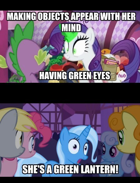 rarity,Green lantern