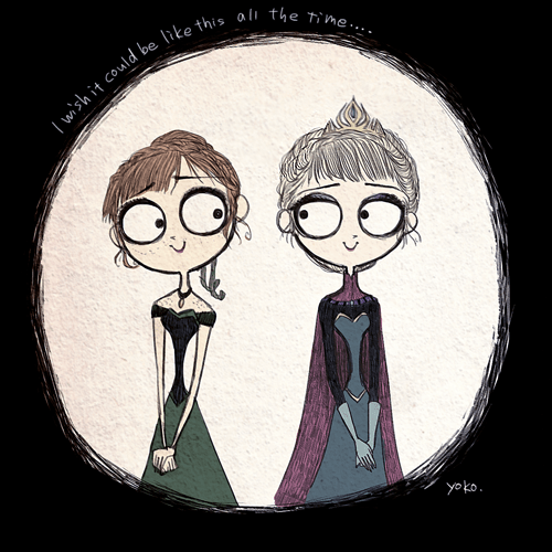 disney,Fan Art,tim burton,frozen,list