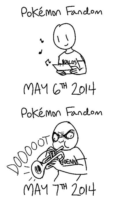 Pokémon,trumpets,fandom