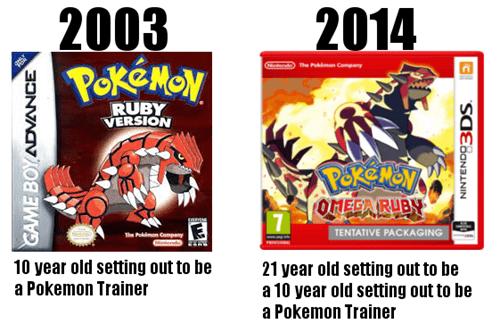 Pokémon gen 3 this makes me feel old - 8178862848
