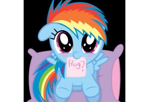 hugs squee rainbow dash - 8179185408