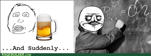 beer albert einstein genius drunk me gusta - 8179374080