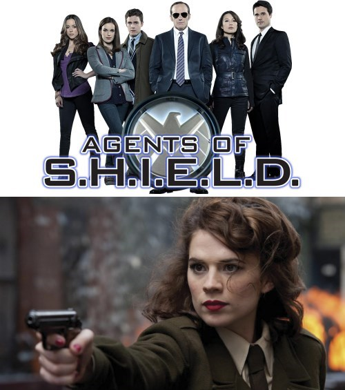 marvel tv shows peggy carter ABC agents of shield