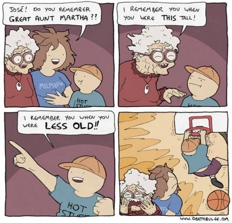 kids slam dunk grandma web comics - 8179983616