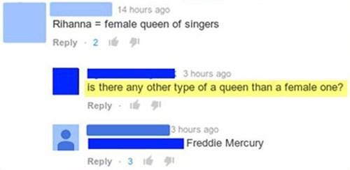 queen freddie mercury rihanna - 8179997184