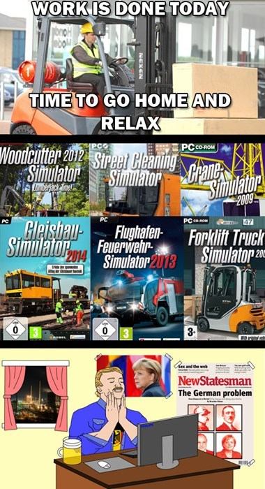 germans simulators Germany video games - 8180007424