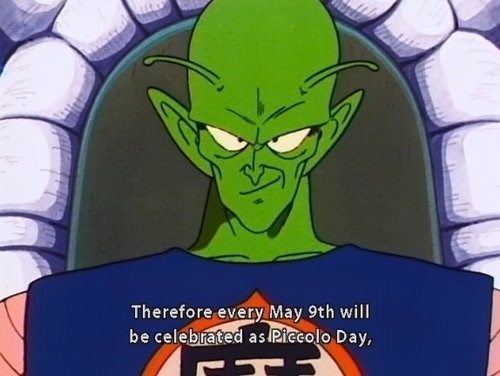 dragonball z Dragon Ball Z piccolo piccolo day