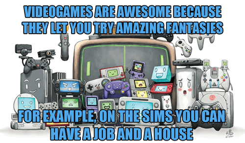 fantasies,video games,The Sims