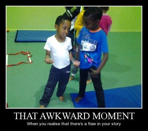 Awkward funny flaw - 8180320256