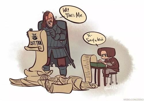 arya stark Fan Art Game of Thrones season 4 the hound - 8180327936