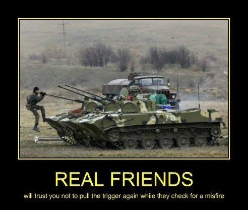 funny trust real friends tanks