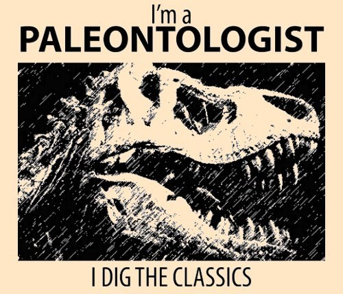 paleontology classic science t shirts - 8180416000