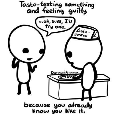 food taste guilty web comics - 8180420352
