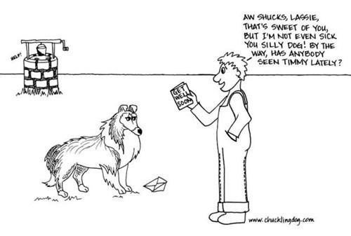 dogs lassie web comics - 8180426240