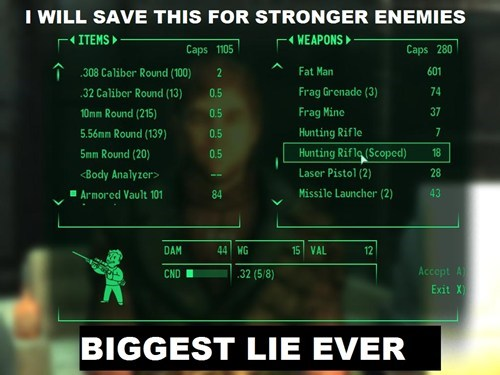 fallout video game logic - 8180476928