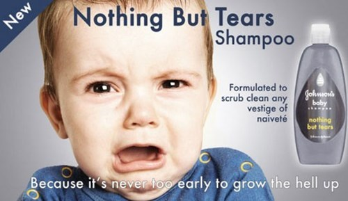 nothing but tears,parenting,shampoo,no more tears