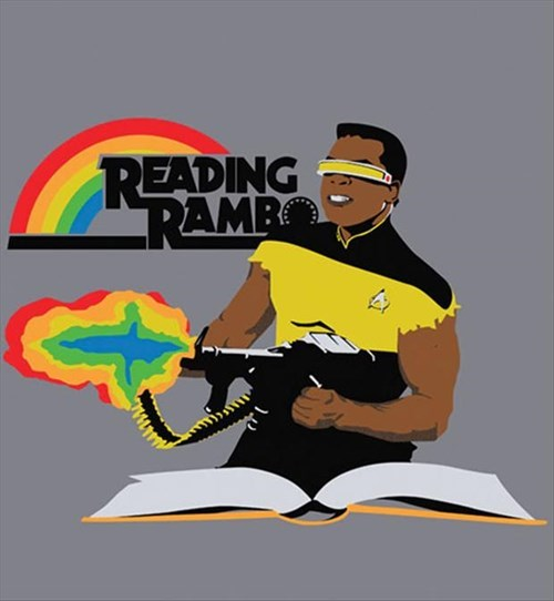 puns reading rainbow funny - 8180485120