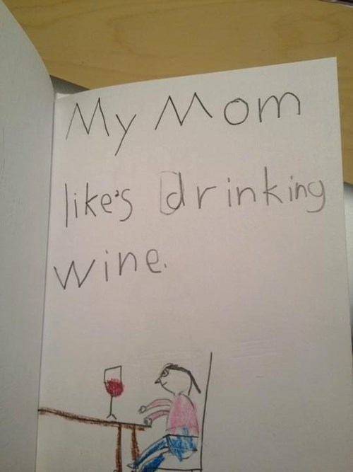 mothersday wine funny - 8180487424