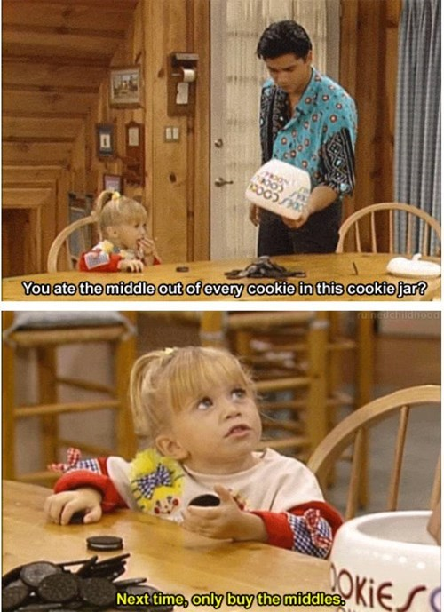 michelle tanner,cookies,genius,full house