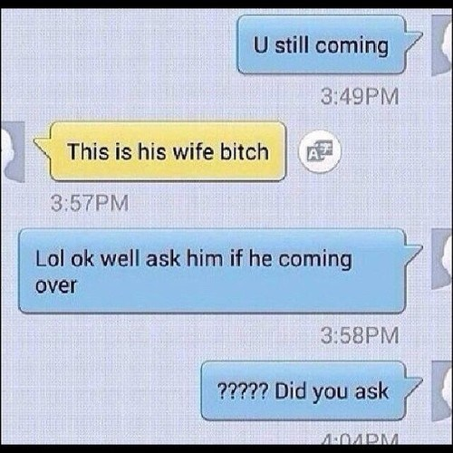 funny wife text side ladies - 8180518912