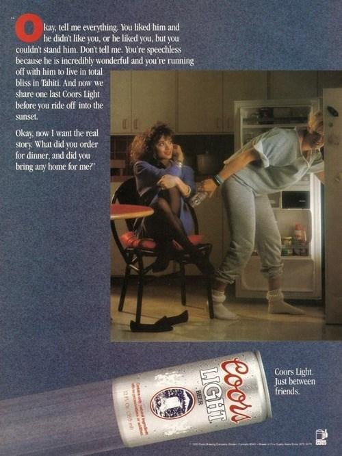 beer ads coors light funny vintage - 8180531712