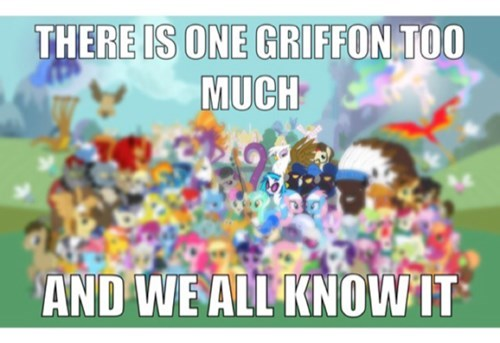 griffon,gilda,MLP