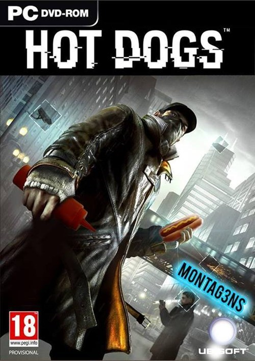watch dogs,hot dogs