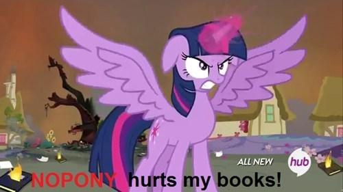 now it's personal bookworm twilight sparkle - 8181726208