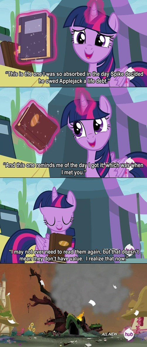 twilight sparkle never forget books