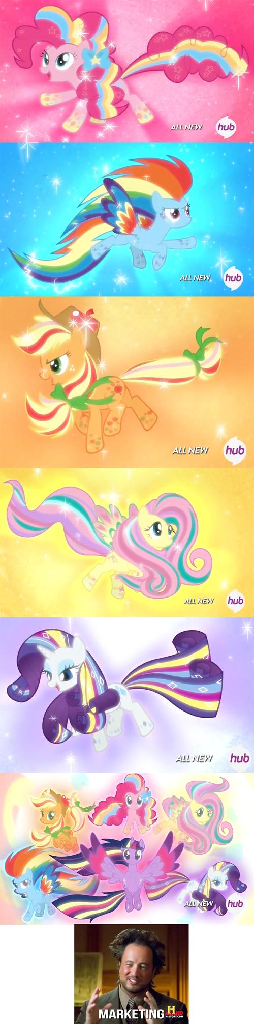 Hasbro mane 6 rainbow power - 8182413312