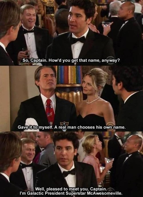 how i met your mother funny names - 8182693376