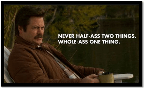 funny sayings ron swanson parks and recreation - 8182700544