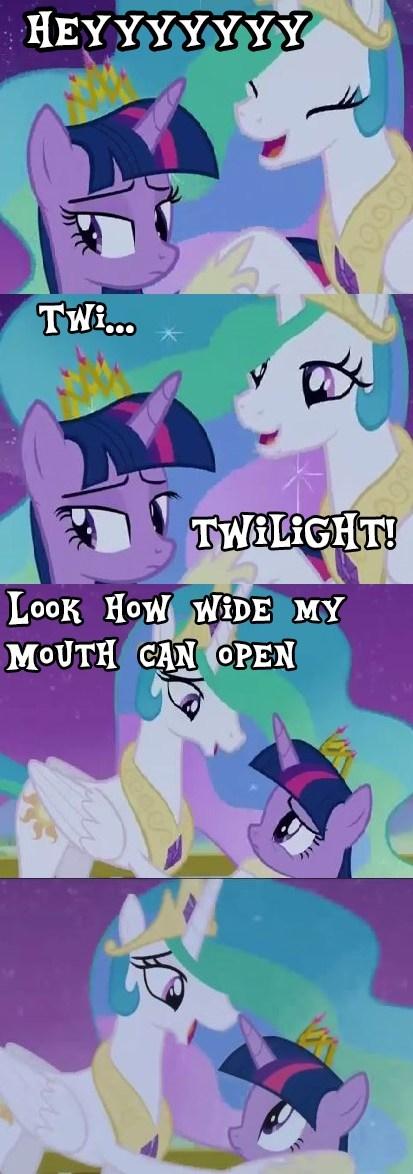 princess celestia twilight sparkle weirdo - 8183159808