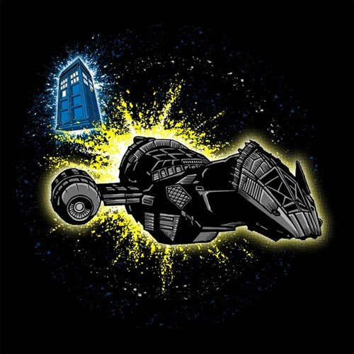 Firefly tardis tshirts - 8183256064