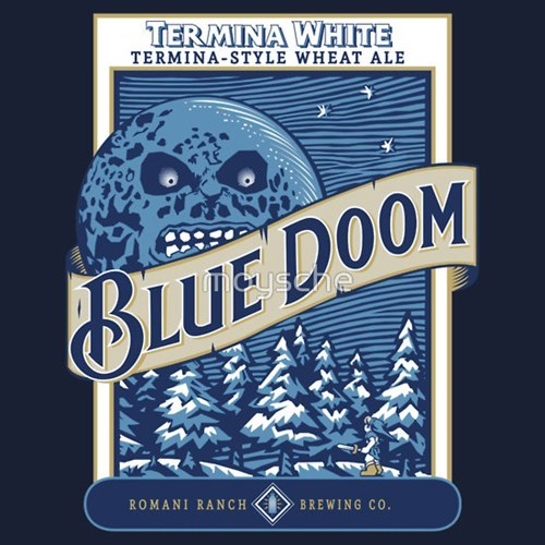 beer blue moon majoras mask zelda tshirts - 8183269632