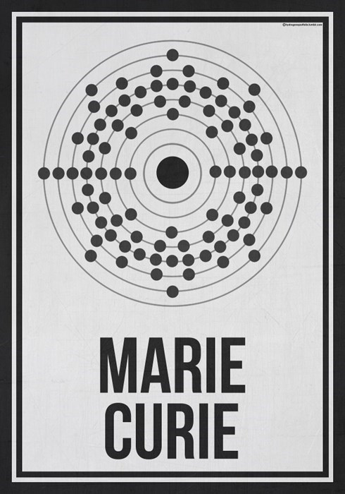 art awesome science marie curie women - 8183670016