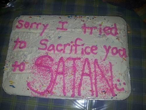 cake,satan