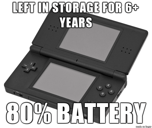 batteries nintendo nintendo ds - 8183814400