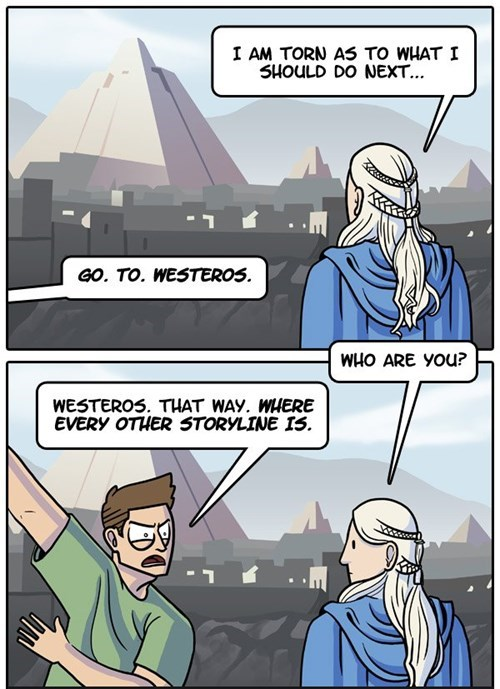 dorkly,Game of Thrones,season 4,web comics,Daenerys Targaryen